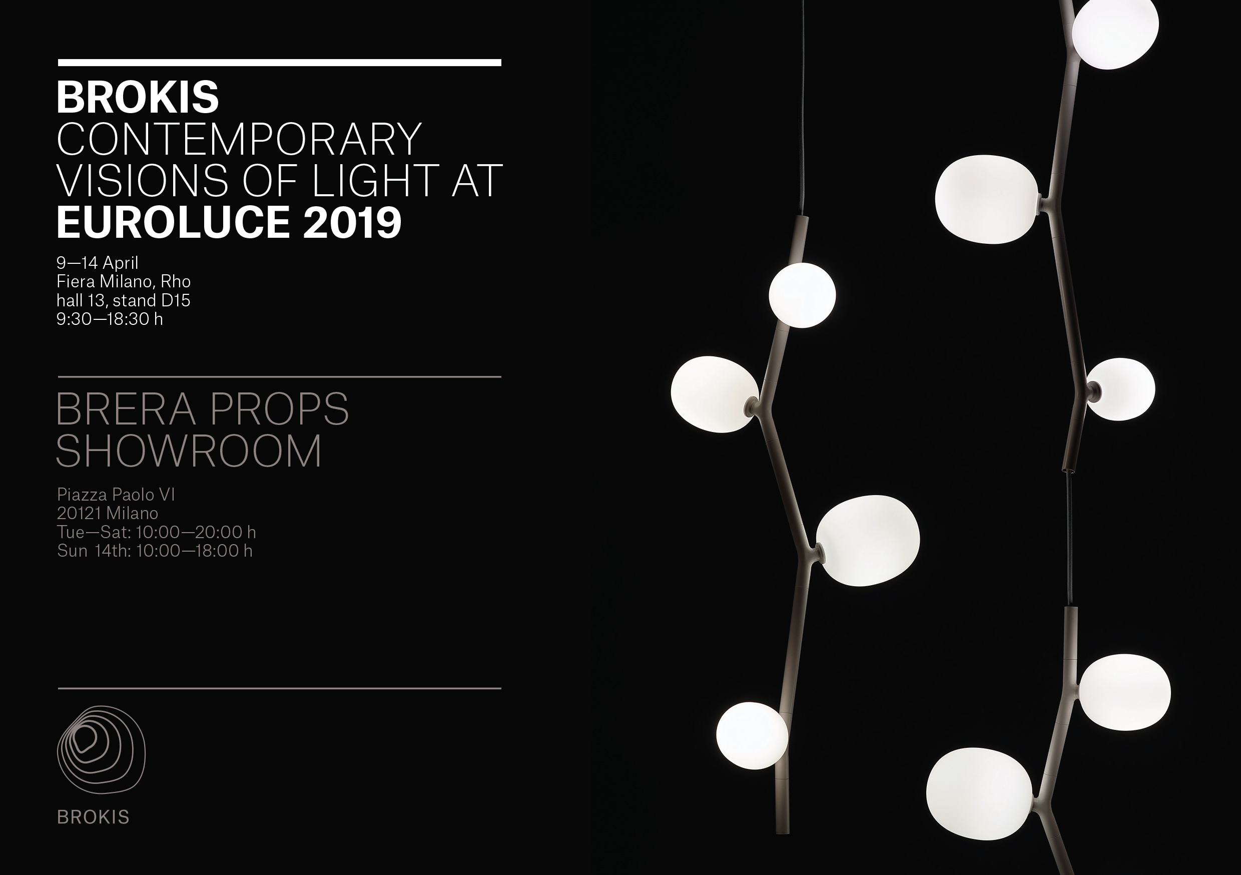BROKIS AT EUROLUCE 2019 IN A NEW LIGHT!