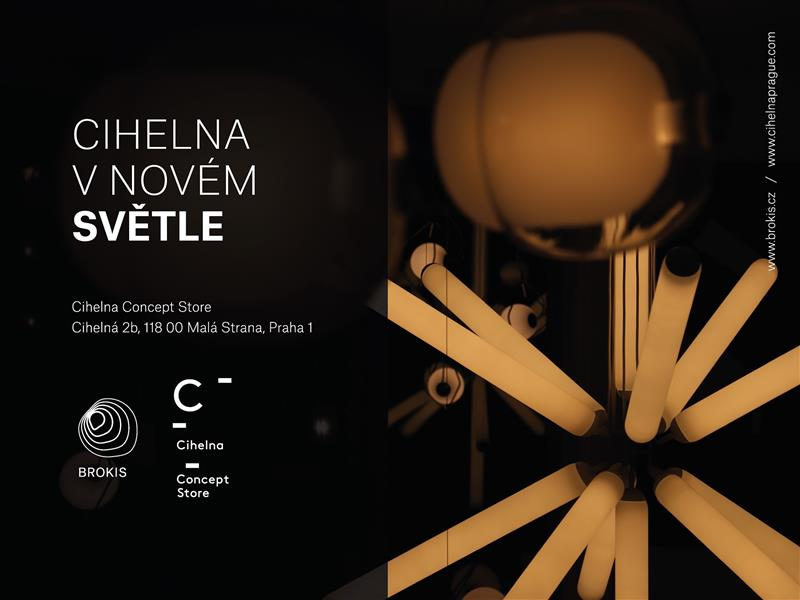 CIHELNA CONCEPT STORE IN A NEW LIGHT